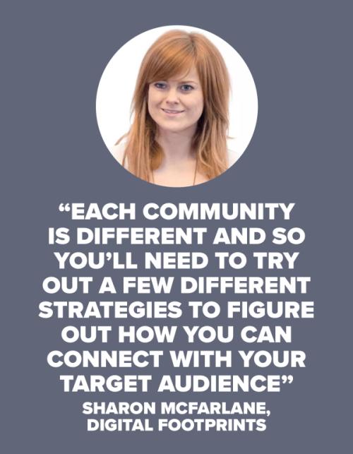 SHARON MCFARLANE Community quote